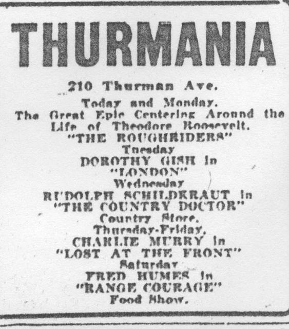 Thurmania Theatre