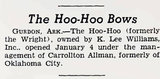 HOO-HOO Theatre; Gurdon, Arkansas.