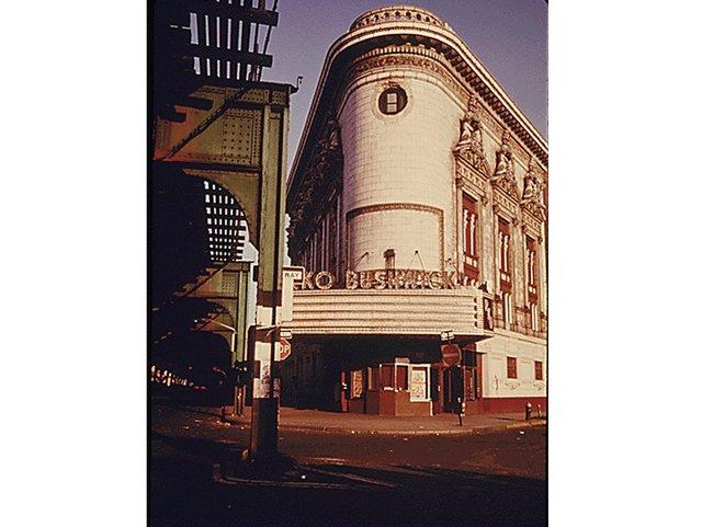 RKO Bushwick Theater, Brooklyn NYC. 1974.