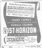"""""""Lost  Horizon"""""""