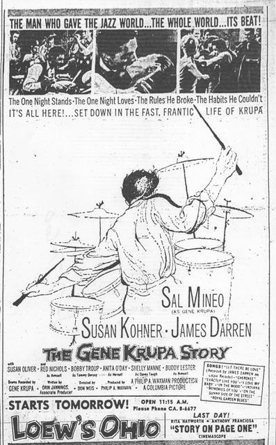 """The Gene Krupa Story"""