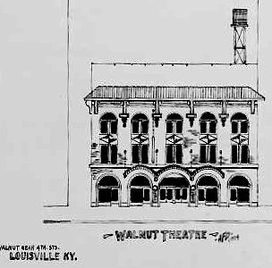 WALNUT Theatre; Louisville, Kentucky.