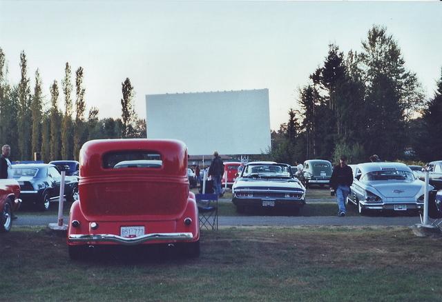 Drive in movie surrey