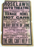 Roselawn Auto Theater Poster