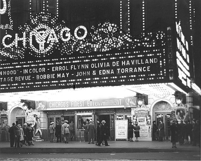CHICAGO Theatre; Chicago, Illinois (1936)