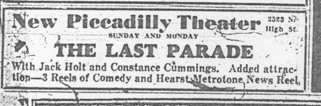 """The Last Parade"""