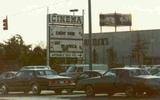 Harundale Cinema marquee mid 1980's