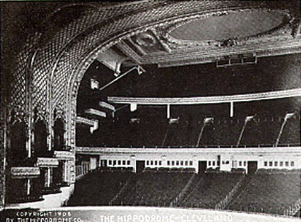 HIPPODROME Theatre; Cleveland, Ohio.