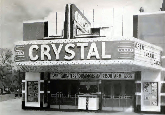 CRYSTAL Theatre; Detroit, Michigan.