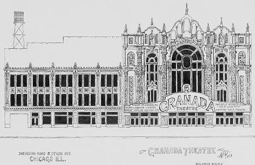 GRANADA Theatre; Chicago, Illinois.