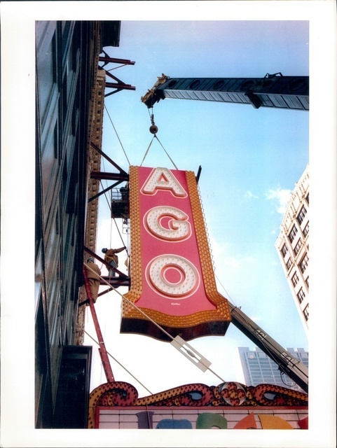 CHICAGO Theatre, Chicago, Illinois, 1996.