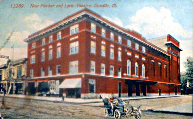 LYRIC (FISCHER) Theatre; Danville, Illinois.