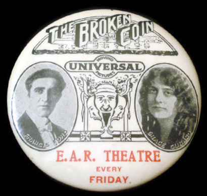 E. A. R. Theatre; Chicago, Illinois promotional mirror.