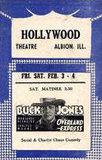 HOLLYWOOD Theatre; Albion, Illinois.
