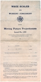 Starland Theater IATSE local 150 Projectionists Union Contract 1945 part1