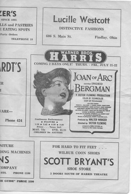 Weekly Movie Guide / WEEK OF JUNE 18, 1949