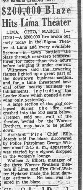 Sigma Theater Fire