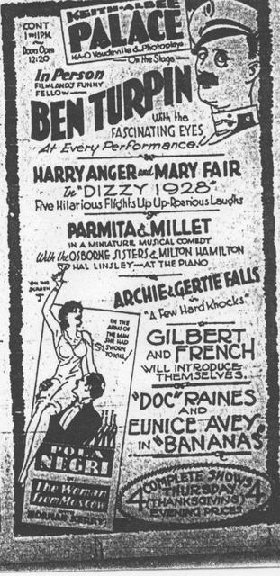 Vaudeville & Photoplays