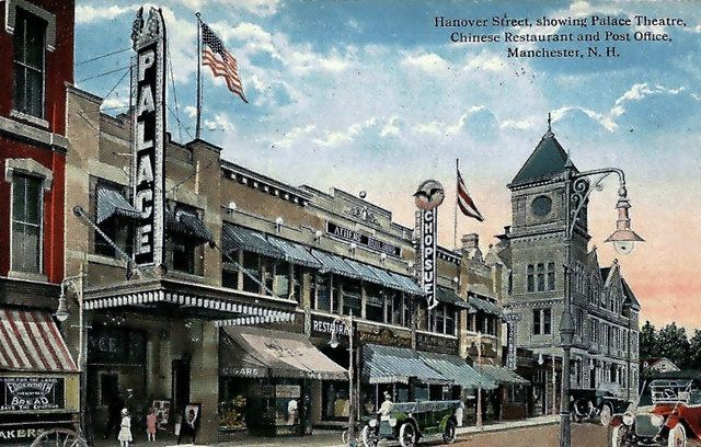 PALACE Theatre; Manchester, New Hampshire.