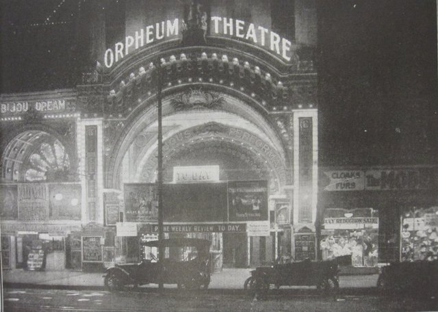 Bijou Dream and Orpheum in abt 1915