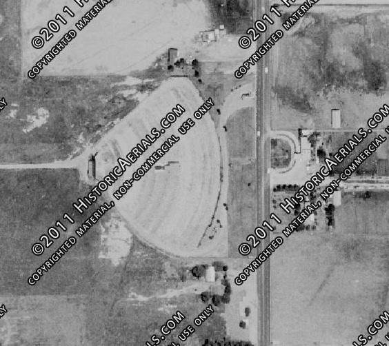 Historic Aerial Photo from 1967