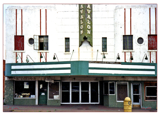 Avalon Theater...Clarksville Texas