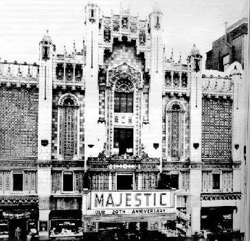 MAJESTIC Theatre; East Saint Louis, Illinois.