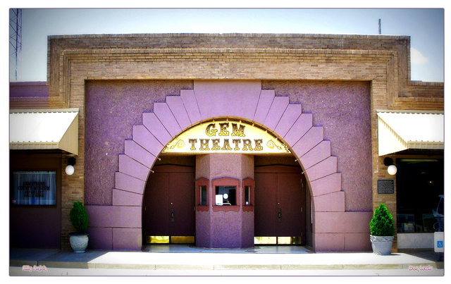 Gem Theatre...Claude Texas