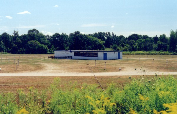 Midland Drive-In Concession/Booth Building