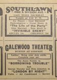 Ad for Galewood Theater