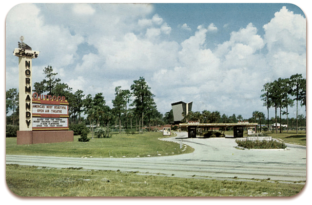Loew's Normandy Twin Open -Air Theatre...Jacksonville Florida