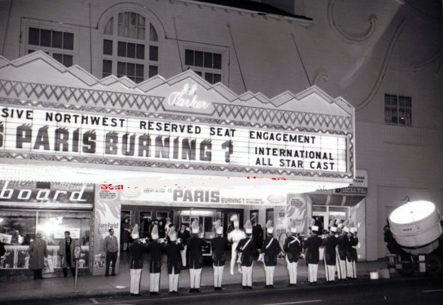 BROADWAY Theatre; Portland, Oregon,1966.