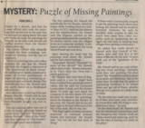 Mystery, continued