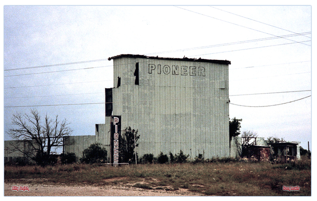 Pioneer Drive-In...Cross Plains Texas