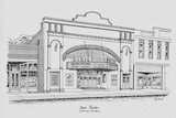 Dixie Theater sketch