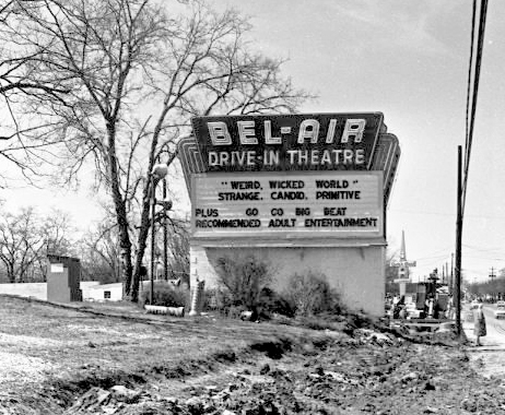 Bel Air Drive In Marquee