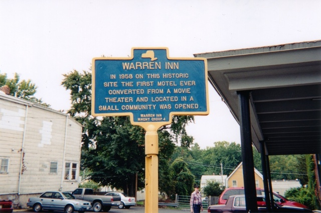 Warren Theater - Historical Marker