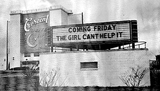 Crescent Drive-In marquee