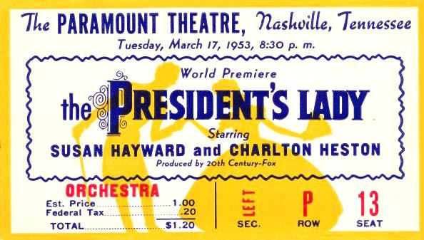 Paramount ticket
