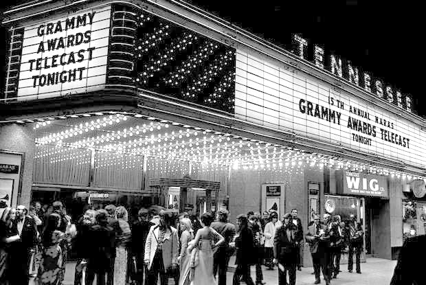 Tennessee Theatre hosts the Grammy Awards