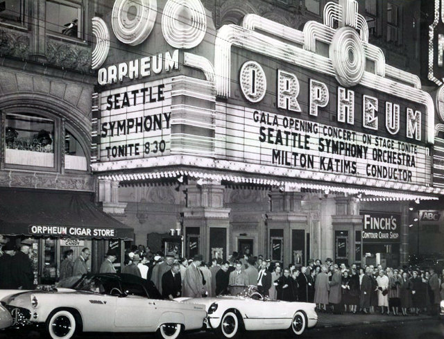 ORPHEUM Theatre; Seattle, Washington.