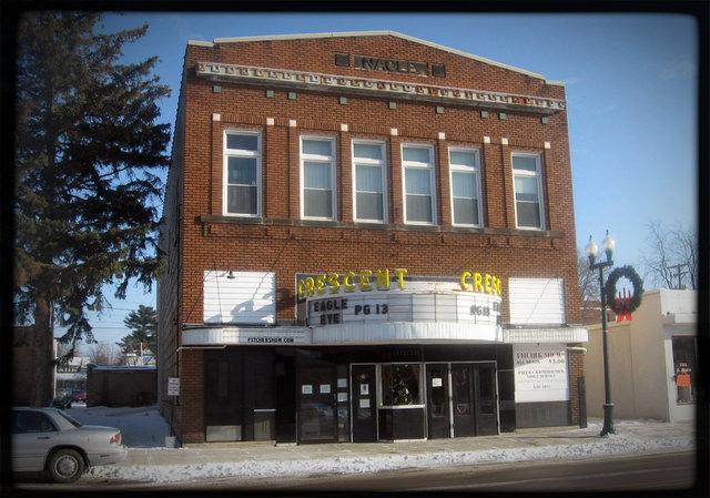 CRESCENT Theatre; Shawano, Wisconsin.