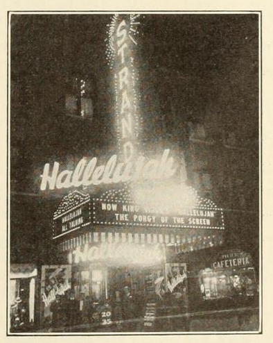 Strand Theatre, Des Moines, Iowa in 1930