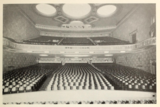 Auditorium of the Durfee Theatre from the stage in 1929