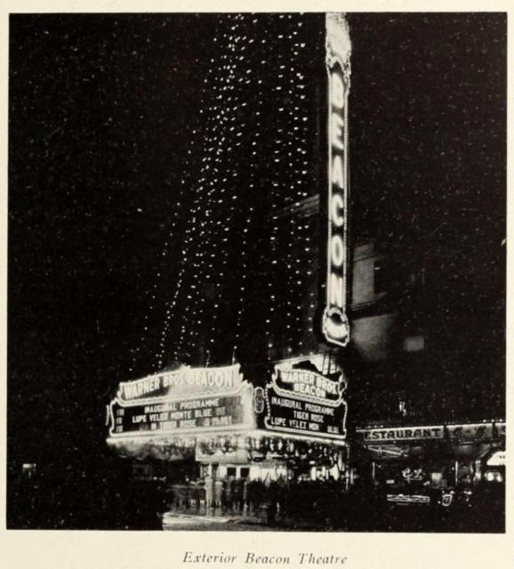 Beacon Theatre, New York in 1929
