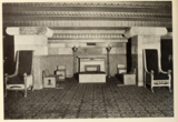 Main Lounge of the Egyptian Theatre, Brighton, Mass in 1929