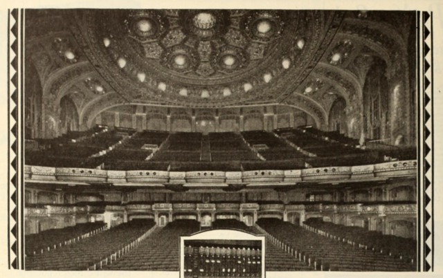 Auditorium of the Marbro Theatre in 1929