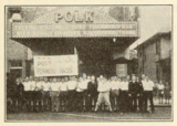 Marquee of the Polk Theatre, Lakeland, Florida in 1930