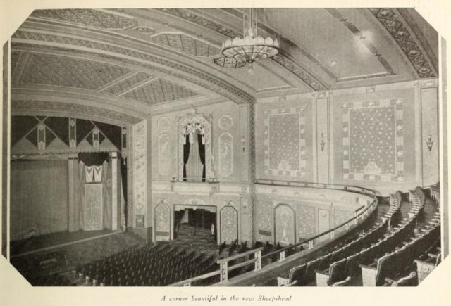 Auditorium of the Sheepshead Theatre, Brooklyn, New York in 1929