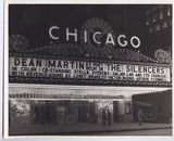 Chicago Theatre Marquee 1966